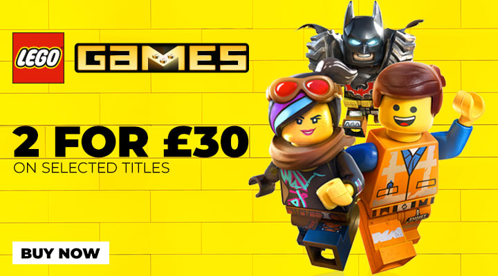 LEGO Games 2 for £30 Offer