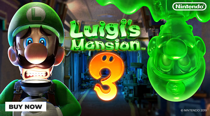 Luigis Mansion 3 on Nintendo Switch