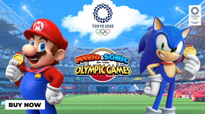 Mario and Sonic at the Olympics Games Tokyo 2020