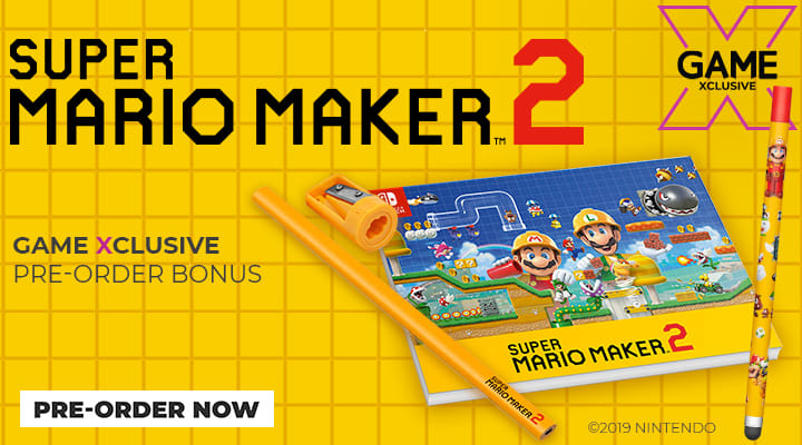 Super Mario Maker 2 on Nintendo Switch
