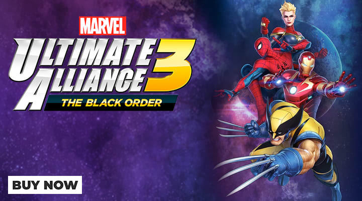 MARVEL ULTIMATE ALLIANCE 3: THE BLACK ORDER - Out Now