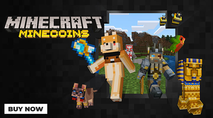 Free Minecraft Minecoins when brought with selected products