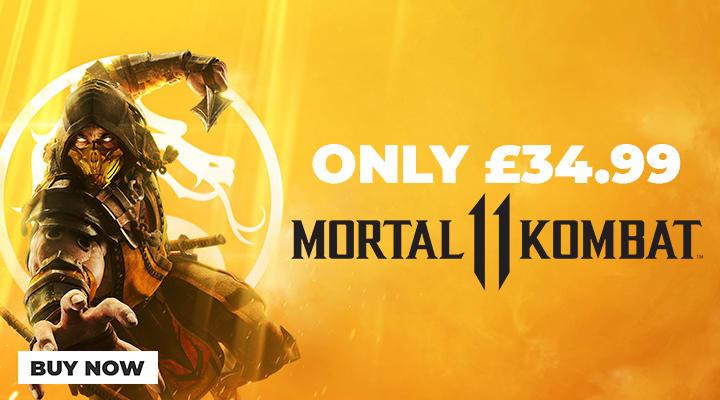 Mortal Kombat 11 - Only 34.99