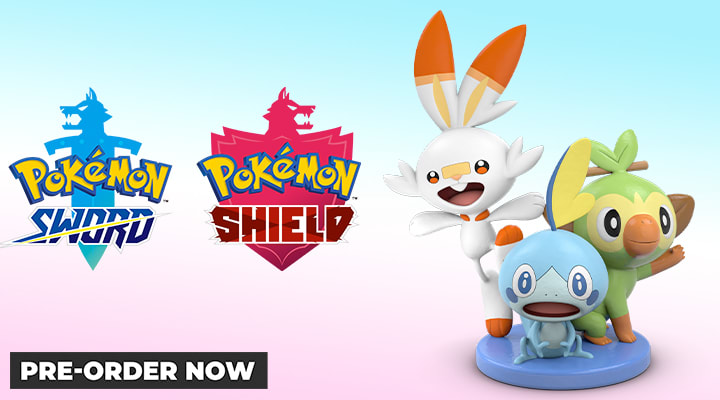 Pokemon Sword & Shield - Coming 15th November