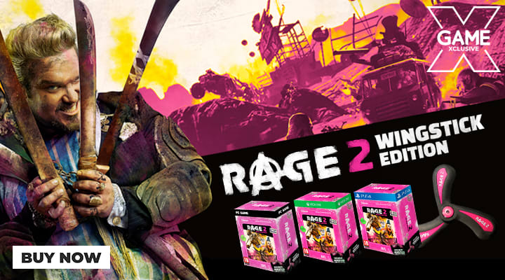 Rage 2 Wingstick Edition