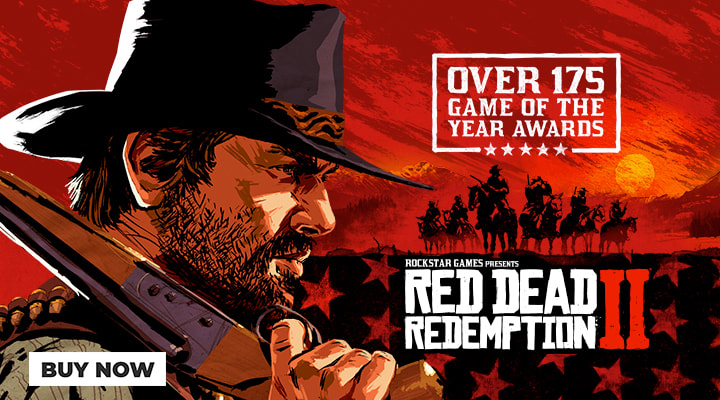 £10 Off Red Dead Redemption