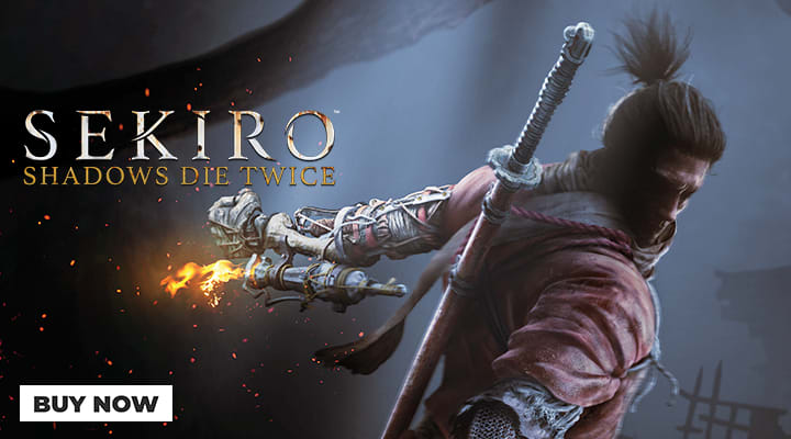 Sekiro: Shadows Die Twice - Now available at GAME
