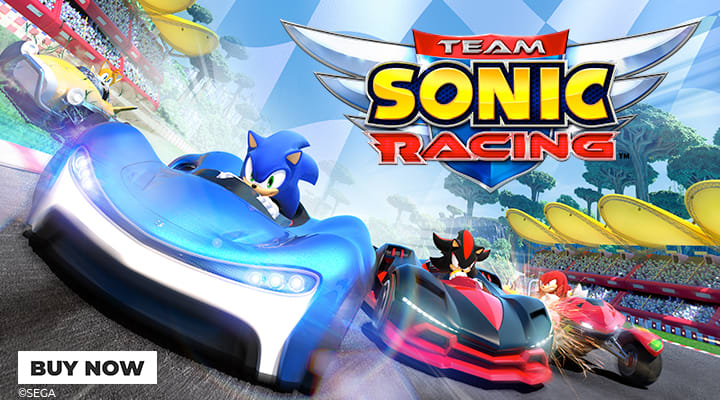 Team Sonic Racing - Pre-Order at GAME