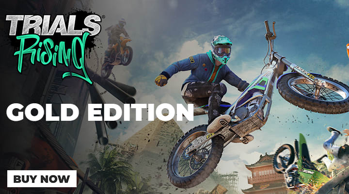 Trials Rising Gold on Nintendo Switch