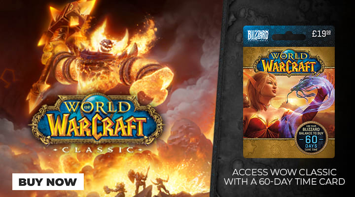 World of Warcraft 60 Day Time Card