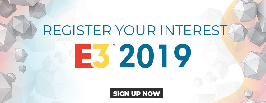 Register your interest for E3