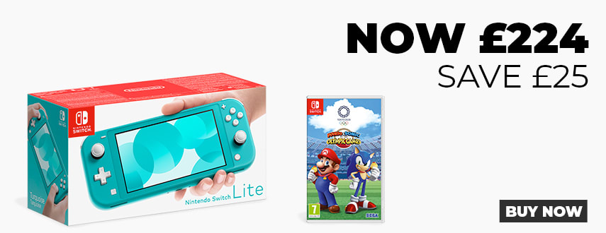 Nintendo Switch Lite with Mario and Sonic 2020