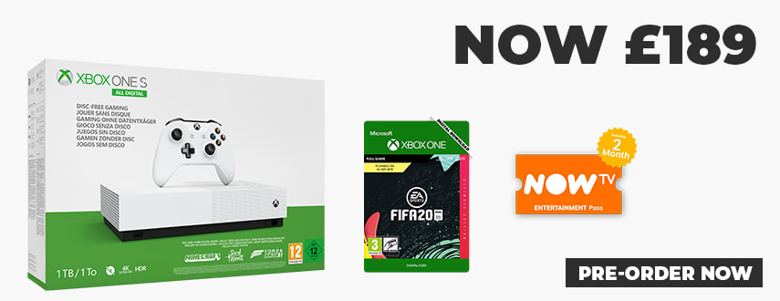 Xbox One S Digital Featured Deal