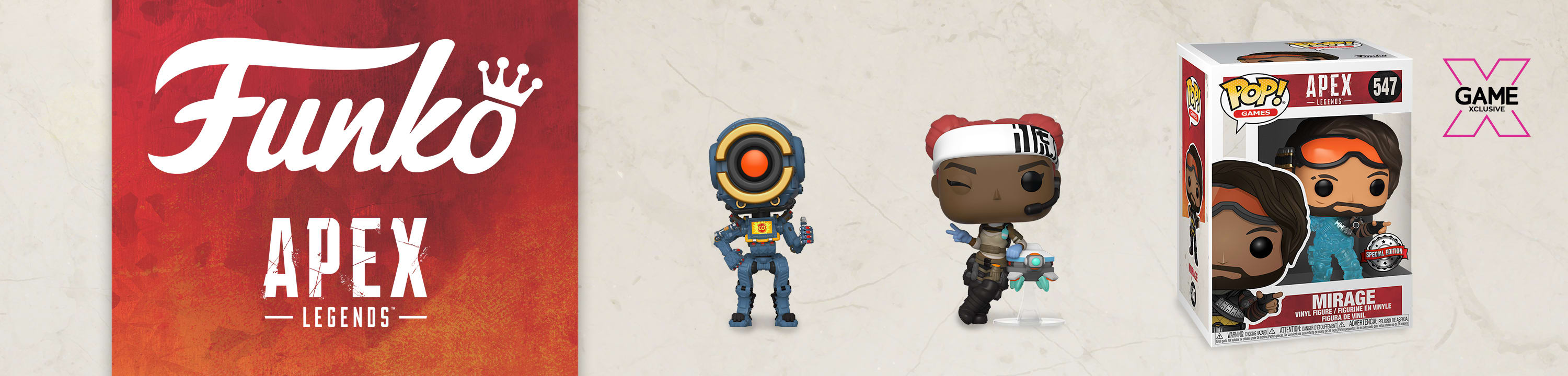 Apex Legends POP Funkos