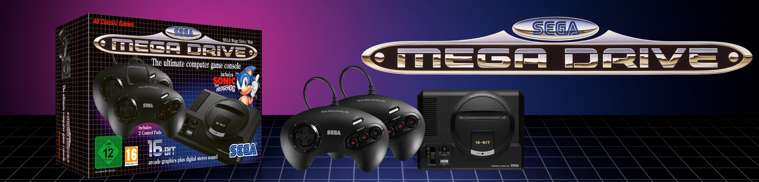 The SEGA Mega Drive Mini