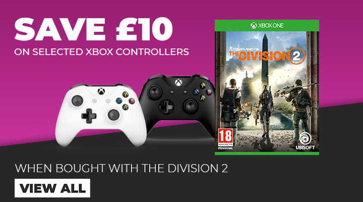 Save £10 On Xbox Controllers when bought with The Division 2