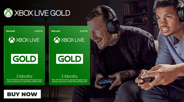 Xbox Live Subscriptions - Buy Now