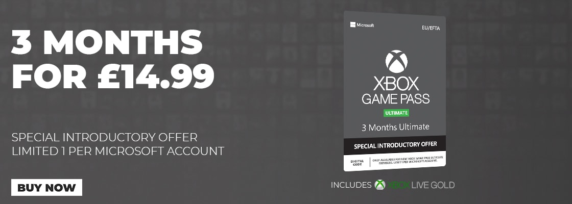 Xbox Game Pass Ultimate Special Introductory Offer