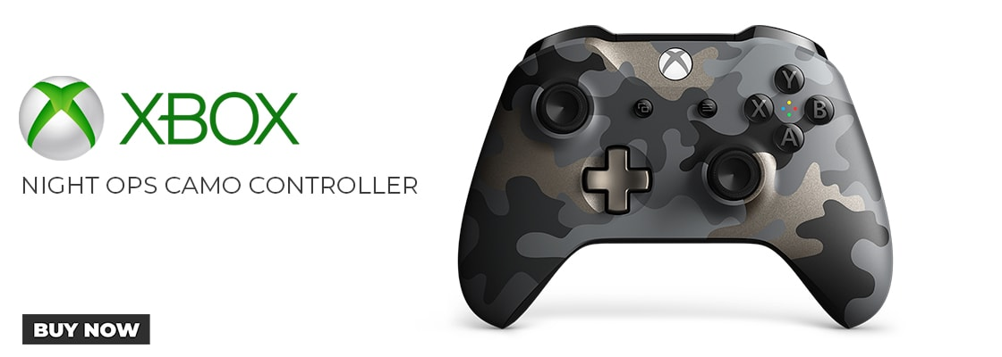 Xbox Night Ops Camo Special Edition Controller