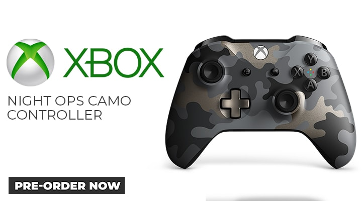 Xbox One Night Ops Camo Controller