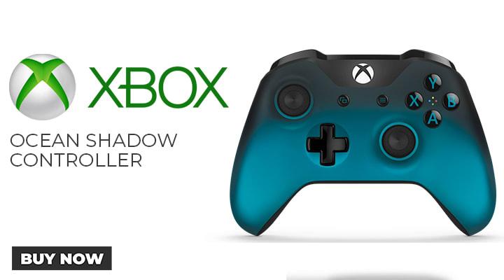 Xbox One Ocean Shadow Controller
