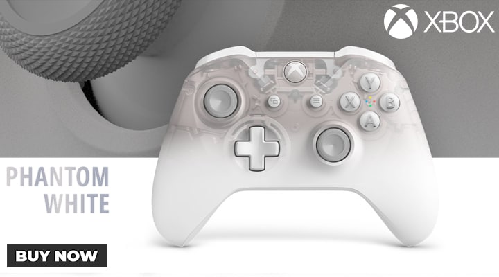 Xbox One Phantom White Controller