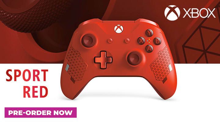 Xbox One Sport Red Controler