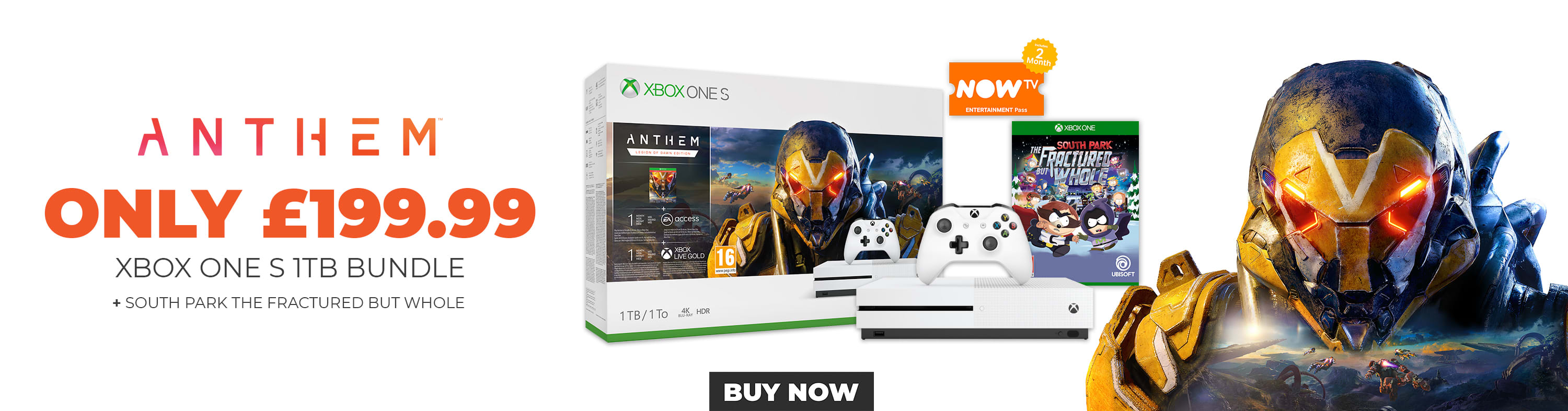 Anthem Xbox One S 1TB Bundles