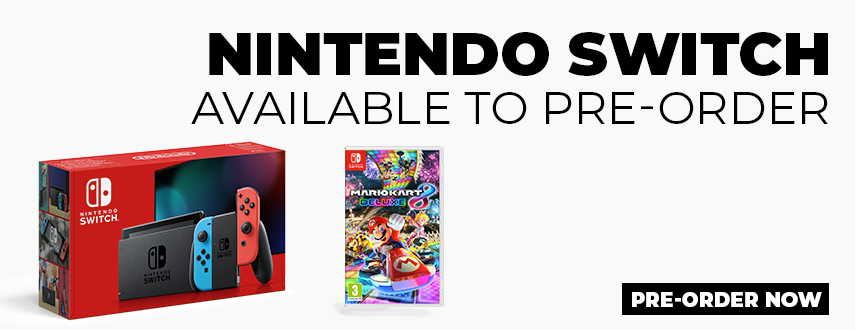 Nintendo Switch Available to Preorder