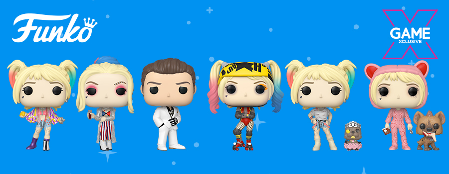 Birds of Prey POP! Funkos