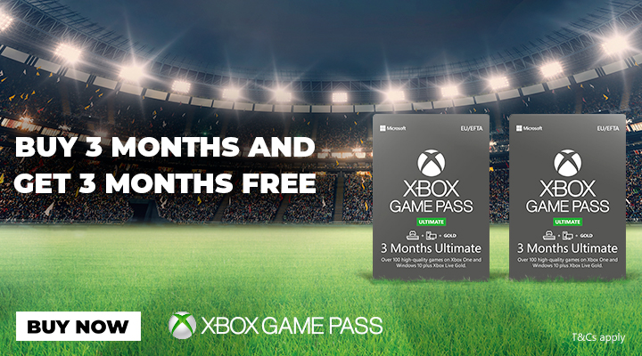 3 Months Xbox Game Pass + 3 Months Free