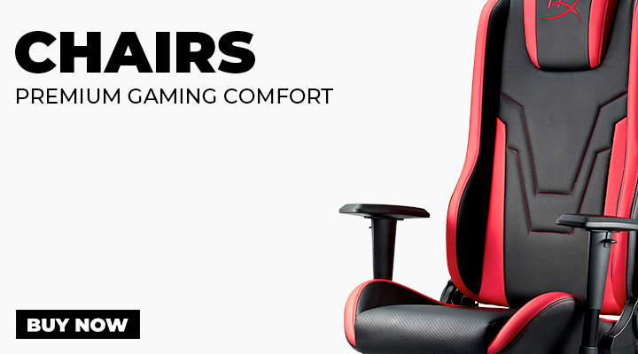 Chairs for PC Gaming - View Full Range