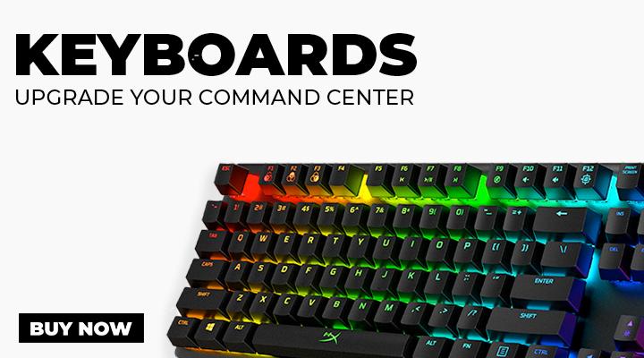 Keyboards for PC Gaming - View Full Range