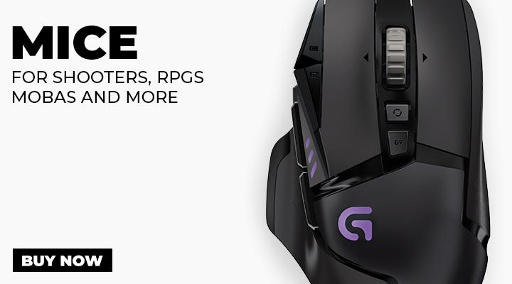 Mice for PC Gaming - View Full Range
