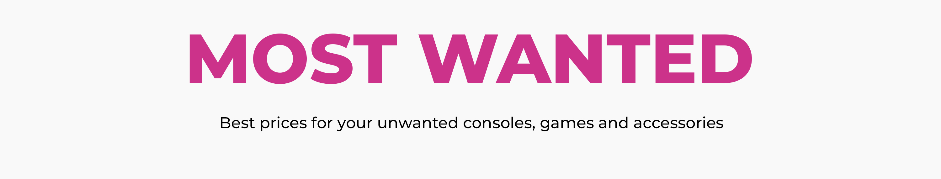Sell your unwanted consoles, games and accessories at GAME for cash or credit