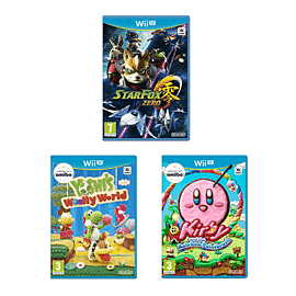 Preowned Wii U Games Triple Pack