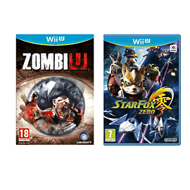 Preowned Wii U Games Double Pack
