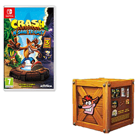 Crash Bandicoot N.Sane Trilogy with Crash Crate