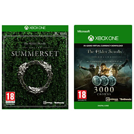 The Elder Scrolls Online: Summerset with 3000 Crowns for Xbox One