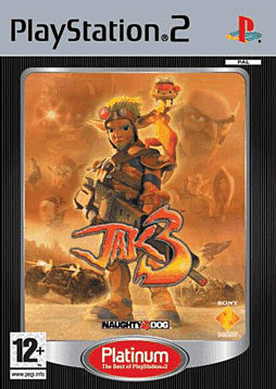 Jak 3 - Platinum PlayStation 2