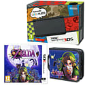 New Nintendo 3DS (Black) with Legend of Zelda: Majora's Mask and Legend of Zelda Folio Kit
