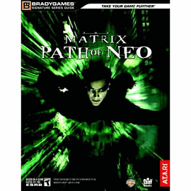 The Matrix: Path of Neo Strategy GuideStrategy Guides & Books