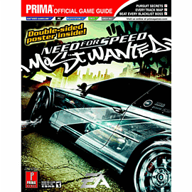 Need For Speed Most Wanted Strategy GuideStrategy Guides & Books