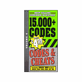 Codes & Cheats Vol:4 (Strategy Guide)Strategy Guides & Books