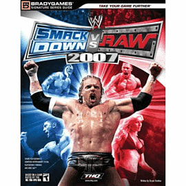 WWE Smackdown vs Raw 2007 Official Strategy GuideStrategy Guides & Books