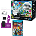 Black Wii U Mario and Luigi Premium Pack with GAMEware Starter Pack and The LEGO Movie Videogame
