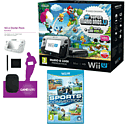 Black Wii U Mario and Luigi Premium Pack with GAMEware Starter Pack and Sports Connection
