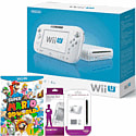 White Wii U Basic with Super Mario 3D World, GAMEware Wii U Screen Protection Kit & GAMEware Wii U Game Pad Silicon Skin