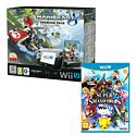 Black Wii U Premium with Mario Kart 8 and Super Smash Bros