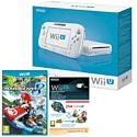 White Wii U Basic with Mario Kart 8 and Mario Kart 8 Season Pass
